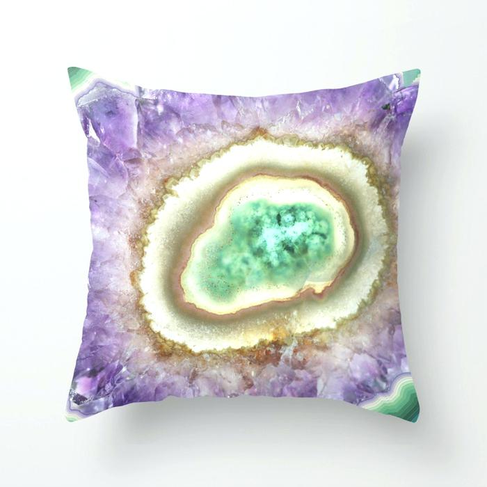 Amethyst Pillow