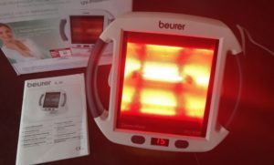 red light therapy device 1