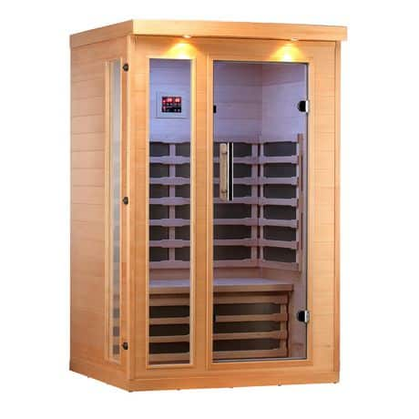 2 Person Sauna: the Ultimate Convenience!