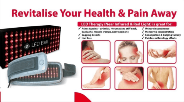 Usage Of Near Infrared Light Source for Pain