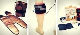 infrared knee heating devices